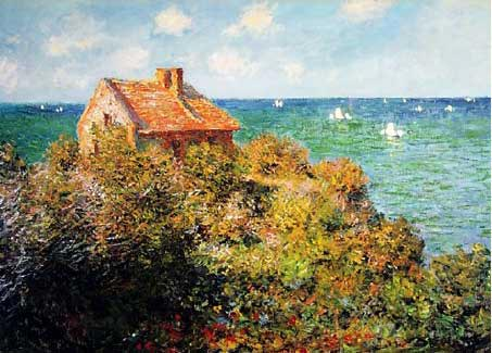 Monet - Fisherman's Cottage