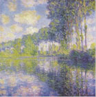 Canvas Poplars on the Epte